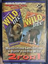 Wild Life Munchtime Lunchtime & Bath'n in the Wild (DVD) WORLD SHIP AVAIL