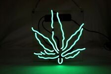 "Brand New Leaf High Life Art Garage Real Neon Light Sign 10""x10"""