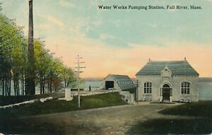 FALL RIVER MA – Water Works Pumping Station - 1912