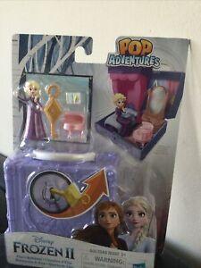 *NEW* Disney Frozen 2 Pop Adventures Elsa's Bedroom Playset