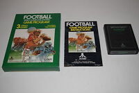 FOOTBALL Atari 2600 Video Game COMPLETE In BOX TESTED