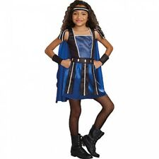 Warrior Princess Costume Size Girl Medium Ages 8-10