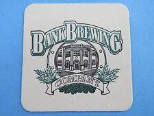 Beer Collectible Coaster ~*~ BANK Brewing Company ~*~ Coos Bay, OREGON? ~ CLOSED