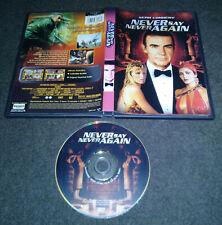 1983 Never Say Never Again DVD James Bond 007 Kim Basinger Sean Connery OOP