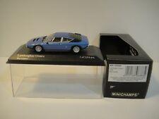 --1/43 MINICHAMPS. LAMBORGHINI URRACO 1974 Blue Metalic.