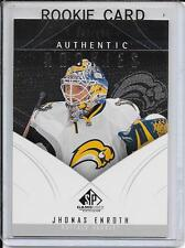 09-10 SP Game Used Jhonas Enroth Rookie # 150
