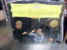 Herbert Von Karajan Christian Ferras Violin Japan Import LP DGG EX [Red Tulip]