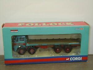 Leyland octopus Platform Lorry Pollock - Corgi CC10606 - 1:50 in Box *44778