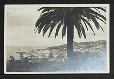 PORTUGAL 259-MADEIRA -View Funchal from East (Real Photo (RPPC)