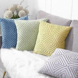 18x18 inch Geometric Pillow Case Cosy Home Decor Cushion Covers Sofa Pillowcase
