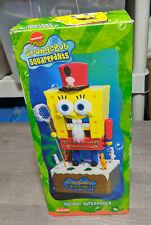 "Rare Kurt S. Adler 11"" Spongebob Squarepants Nutcracker Christmas Decoration Toy"
