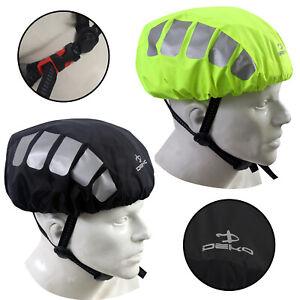 DEKO Cycling Helmet Cover High Visibilty Reflective Waterproof Bicycle Bike UK