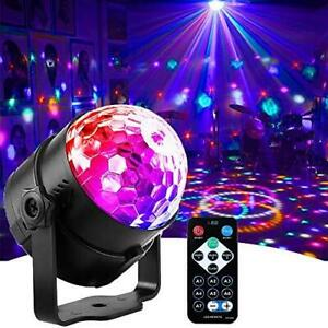 Mini Dj Disco Ball Party Stage Lights Led 7Colors Effect Projector Equipment for