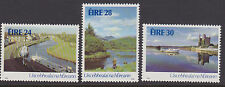 IRELAND, Scott #662-664, MNH, 1986 Irish Waterways - Complete