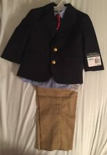 BNWTS Baby Boy Nautica 4 Pc Suit Size 18 Months Retail $80