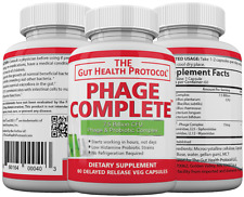 Phage Complete - Probiotic / Prebiotic for Intestinal Health - Guaranteed