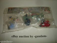 SD Gundam Full Color Stage 5 GashaPon 6 figure lot 108 Zeong Gelgoog Ball Bandai