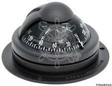 "RIVIERA Comet Boat Marine Compass 2"" Black Surface Mount"