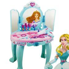 Schminktisch Spielzeug Frisiertisch Mädchen Schminkkopf Spieltisch Kinder Puppen