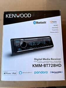 Kenwood Digital Media Receiver with Bluetooth and HD Radio - Black (KMM-BT728HD)