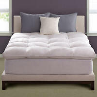 Pacific Coast® Natural-filled Feather Bed Topper w/ Cover (Select Size)