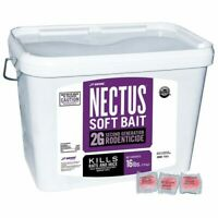 Nectus Soft Bait 10 Packs Rat Mice Mouse Poison Professional Rodenticide