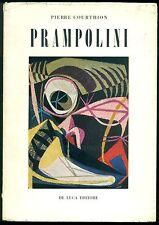 P. Courthion, Enrico Prampolini. De Luca (Quaderni della Quadriennale) 1957