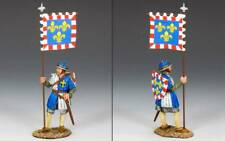 King & Country MK088 Fr. Royal Man-at-Arms with Banner - RETIRED - Mint in Box