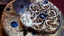 1794 JOHN HART - LONDON - PAIR CASE VERGE FUSEE POCKET WATCH - RUNNING WELL