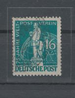 Briefmarke Berlin / Freimarke MiNr. 36 gestempelt, 75 Jahre Weltpostverein (UPU)