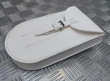 Genuine British Military Ceremonial White Utility / Flute Belt Pouch Brand New