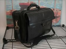 Hartmann Belting Leather Briefcase Attache Case Travel Laptop Bag Carry On USA
