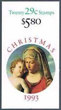Etats Unis Sc  Bk211  Christmas 1993  Booklet