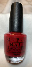 Opi Nail Lacquer, Black Label, Rare, Unopened, Double Decker Red