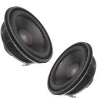 2Stk 40 * 22mm 5 Watt Full Range Audio Lautsprecher Neodym Magnet Lautspr Gift