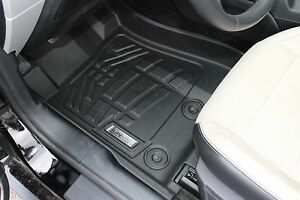 Front Sure-Fit Floor Mats: 2015-2020 Ford Mustang