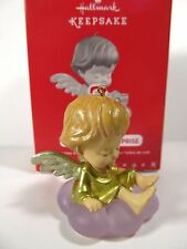 2016 Hallmark Marys Angel Surprise Repaint 1st in Series Buttercup GOLD