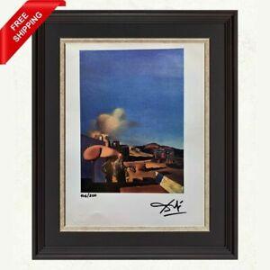 Salvador Dali Original Hand Signed Print with COA - The Average Fine