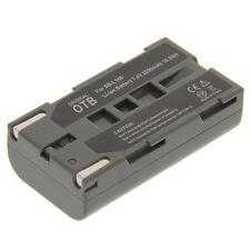 BATTERIA Li-Ion Tipo sb-l160 per Samsung sc-d67 d73 d77 d80