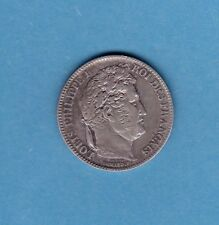 (F.105) 1 FRANC LOUIS PHILIPPE TETE LAUREE 1846 B (ROUEN)  PRESQUE SUP