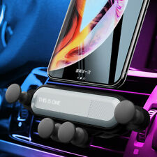 Gravity Car Phone Holder Air Vent Mount Stand for iPhone XS MAX Samsung S9 S10 +