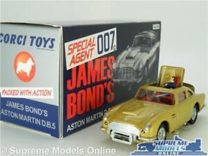 CORGI CC04206 JAMES BOND ASTON MARTIN DB5 MODEL CAR GOLD LTD THUNDERBALL 1:43 K8