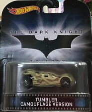 Hot Wheels Retro Entertainment- Dark Knight - camo - Batmobi!e -Free Shipping!