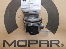 4 X Engine Piston + Rings STD Jeep Wrangler JK 2.8L CRD 07-10 New OEM Mopar