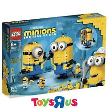 LEGO 75551 Minions Brick-built Minions and their Lair (BRAND NEW SEALED)