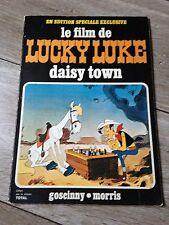 Daisy Town le film de LUCKY LUKE en édition spéciale Total (DL 2ème trim 1972)
