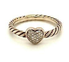 David Yurman Diamond Sterling Silver Ring