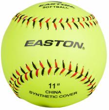 "Easton 11"" Neon Softouch Training Softball A122115"