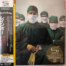 Rainbow - Difficult to Cure(SHM-CD. jp mini LP), 2009 UICY-93623 Japan