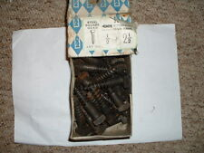 """vintage 18 x NETTLEFOLDS 2 1/2"""" x 1/2"""" SQUARE HEAD SELF COLOUR COACH SCREWS"""